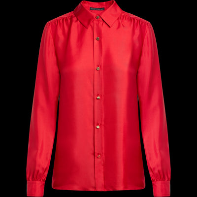 00 Candy Apple Harper Blouse Blouses & Shirts W by Worth Worth Collection
