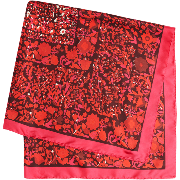 NO Ditsy Floral Twill Scarf Accessories W by Worth Worth Collection