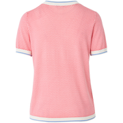 W by Worth Gideon Pullover ${description} $278.00 Available in: Size XXS Color Pink Coral White Blue