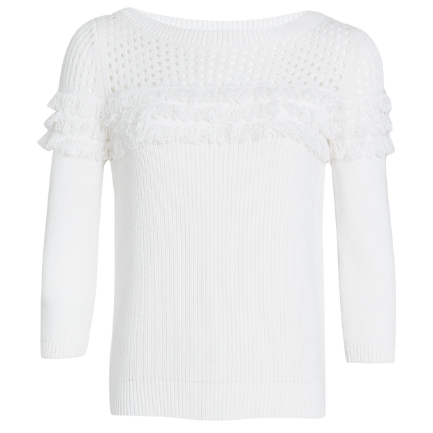 W by Worth Graham Pullover ${description} $328.00 Available in: Size XS Color Porcelain White
