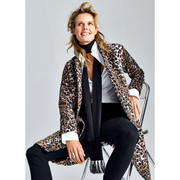 XS Animal Print Leo Coats W by Worth Worth Collection