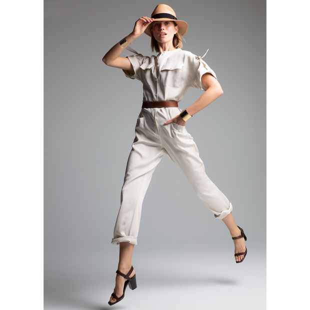 W by Worth Jenna Jumpsuit ${description} $528.00 Available in: Size 00 Color Stone