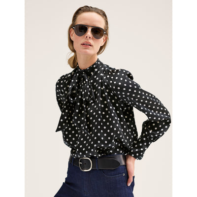 Midnight XS Ileana Blouse Blouses & Shirts W by Worth Worth Collection