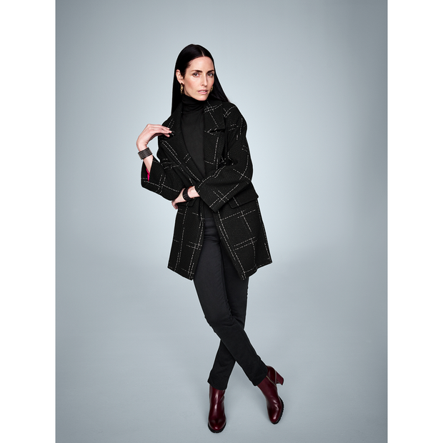 Worth New York Sasha Coat ${description} $374.00 Available in: Color Black Size XS