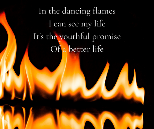 Dancing Flames Lyrics