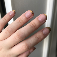 Load image into Gallery viewer, French Gold Tips - Yay to Nails