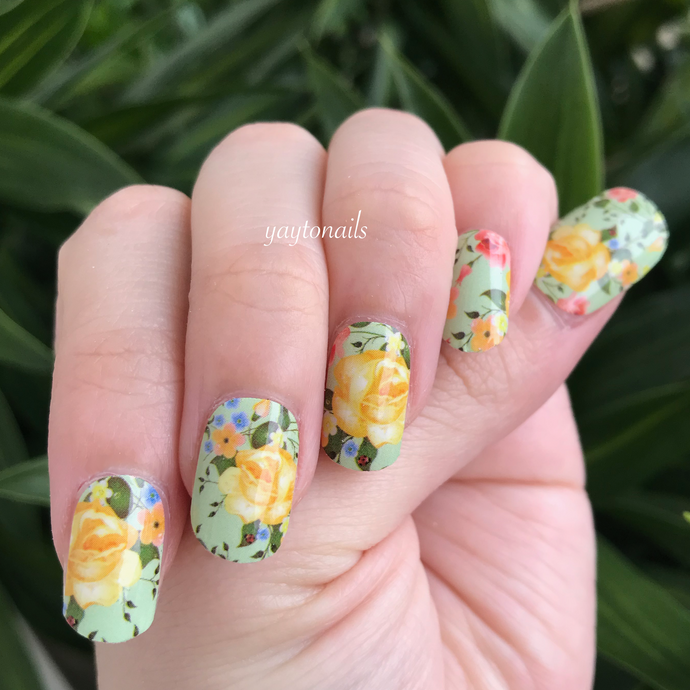 Bed of Roses - Yay to Nails