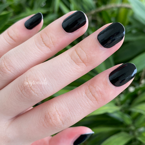 Solid - Black - Yay to Nails