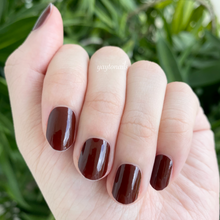 Load image into Gallery viewer, Solid - Mahogany red - Yay to Nails