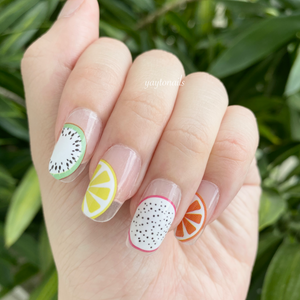 Fruits (Transparent base) - Yay to Nails