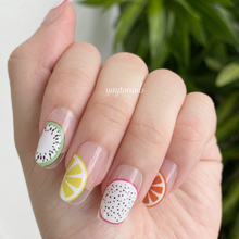 Load image into Gallery viewer, Fruits (Transparent base) - Yay to Nails