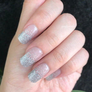 Glam - Silver - Yay to Nails