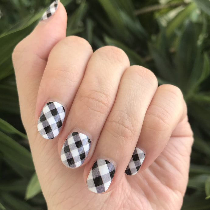 Gingham - Yay to Nails