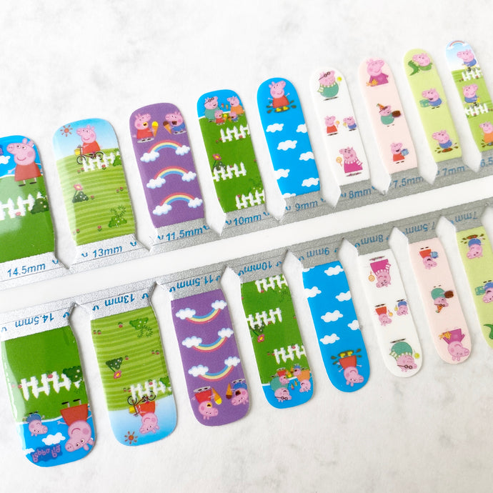 Kids - Peppa - Yay to Nails