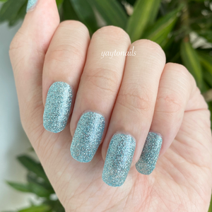 Aqua - Glitter - Yay to Nails