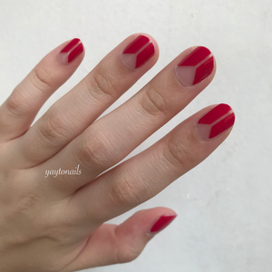 Minimalist Red - Yay to Nails