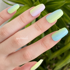 Pastels and hues - Yay to Nails