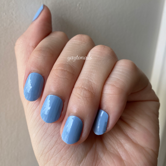 Solid - Pastel Blue - Yay to Nails