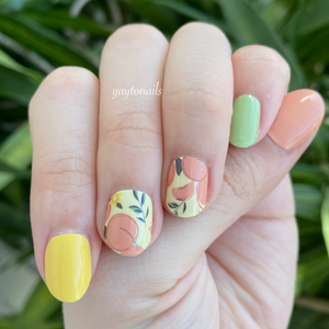 Peach please - Yay to Nails