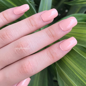 Solid - Peachy - Yay to Nails