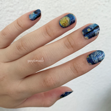 Load image into Gallery viewer, Starry starry night - Yay to Nails
