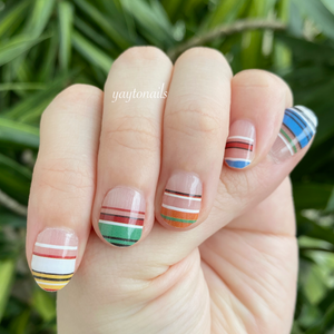 Cute Stripes - Yay to Nails