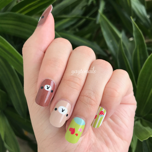 Teddys - Yay to Nails