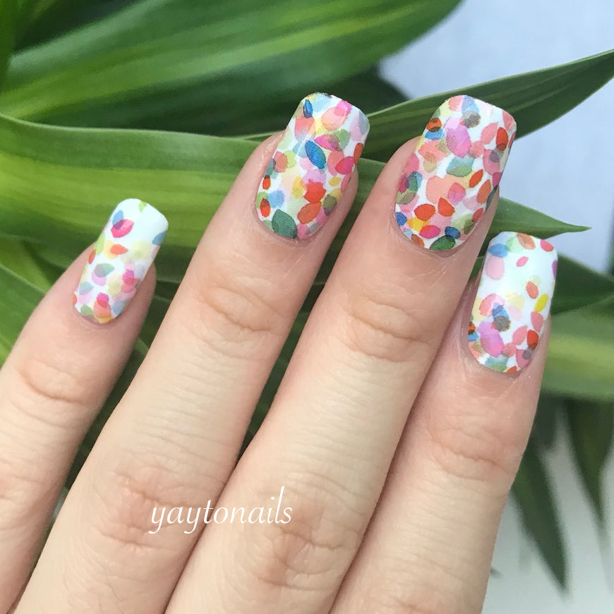 Watercolours - Yay to Nails
