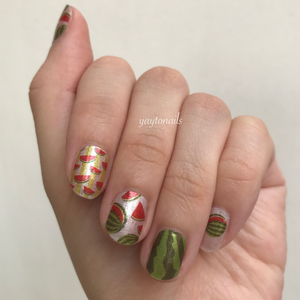 Watermelon Slices - Yay to Nails