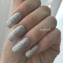 Load image into Gallery viewer, Silver - Glitter - Yay to Nails