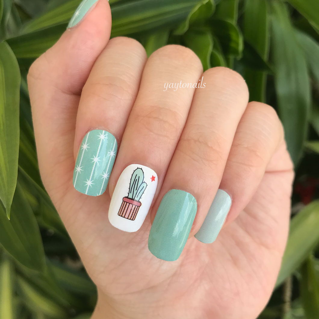 Cute Cactus - Yay to Nails