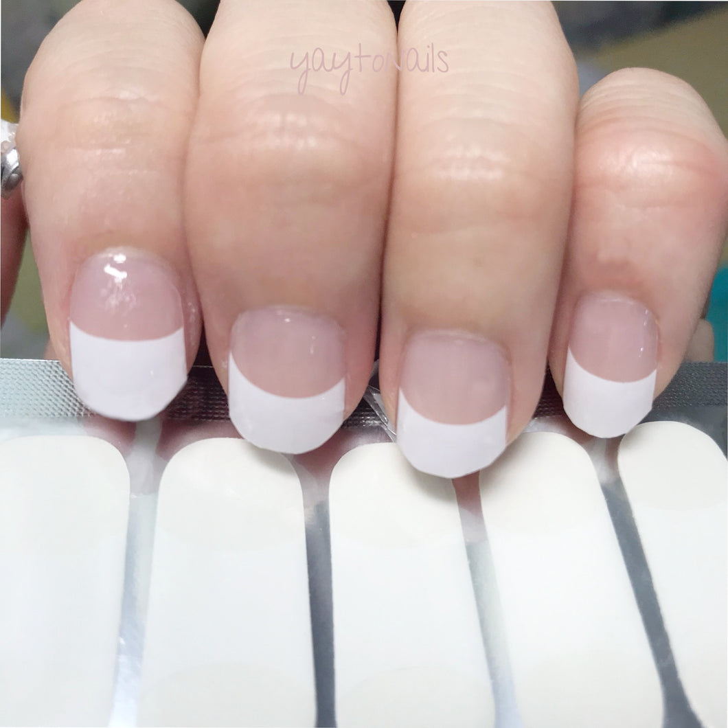 French (Short Nails) - Yay to Nails
