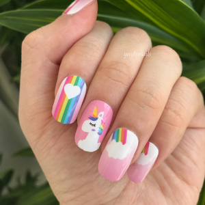Unicorn Cloud - Yay to Nails