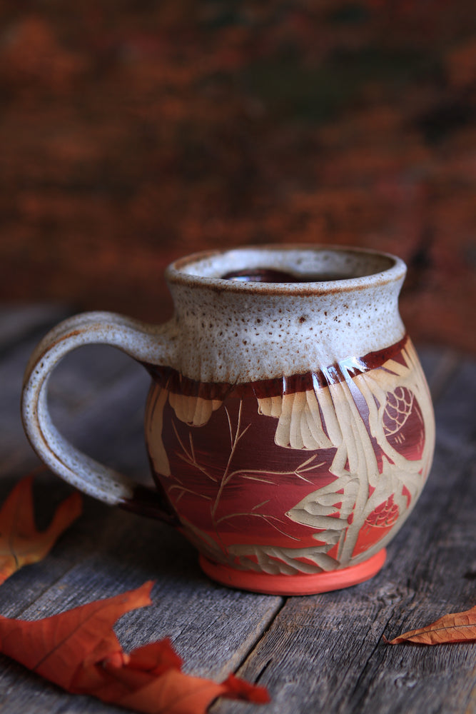 Load image into Gallery viewer, 6 Autumn Mug