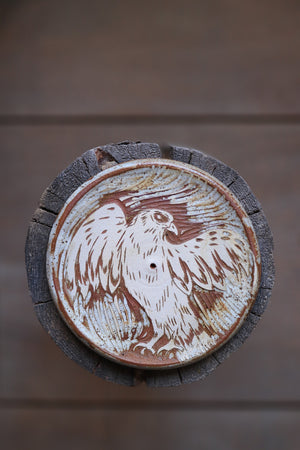 144 Hawk Incense Dish