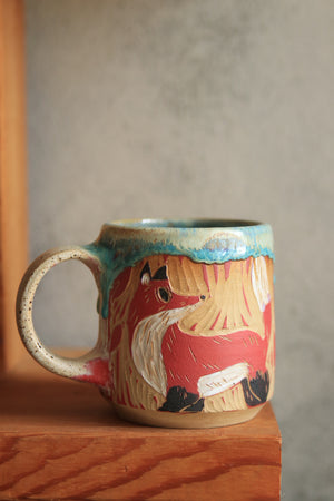 Load image into Gallery viewer, 45 Fox Mug 16 oz