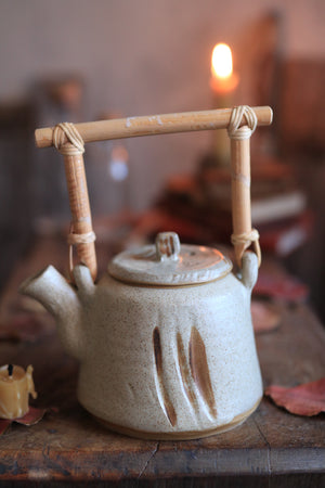 Load image into Gallery viewer, 100 Stoneware Teapot
