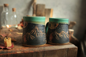 Load image into Gallery viewer, 56 Campfire Mug Set of Two