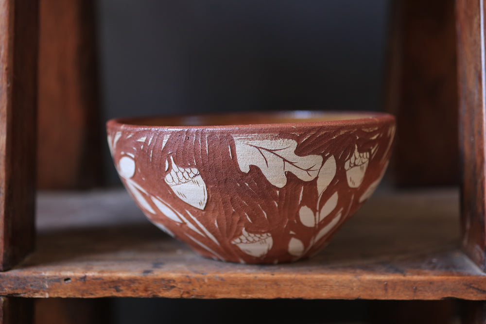 Load image into Gallery viewer, 77 Woodland Serving Bowl