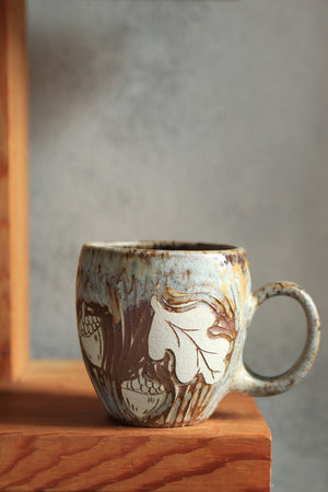 Load image into Gallery viewer, 48 Wolf Mug 16 oz