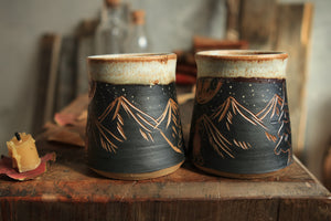 Load image into Gallery viewer, 58 Campfire Mug Set of Two