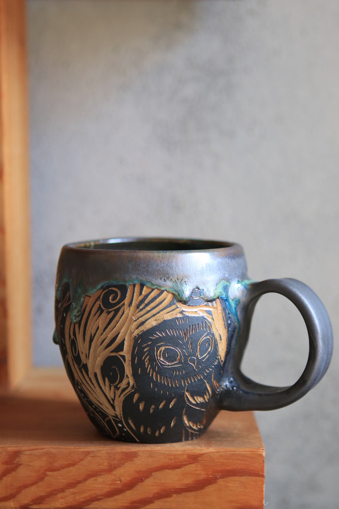 Load image into Gallery viewer, 21 Owl Mug 18 oz