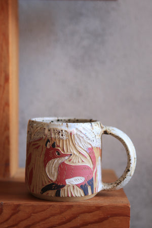 Load image into Gallery viewer, 126 Fox Mug 13 oz