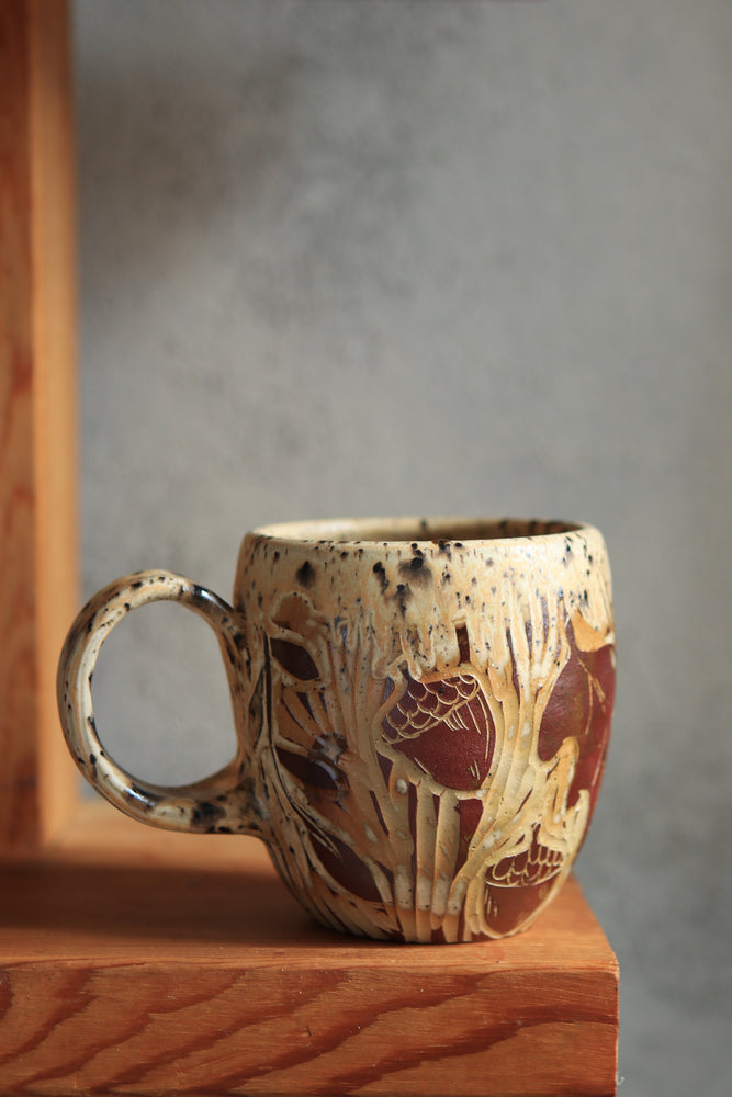 Load image into Gallery viewer, 9 Moth Mug 16 oz
