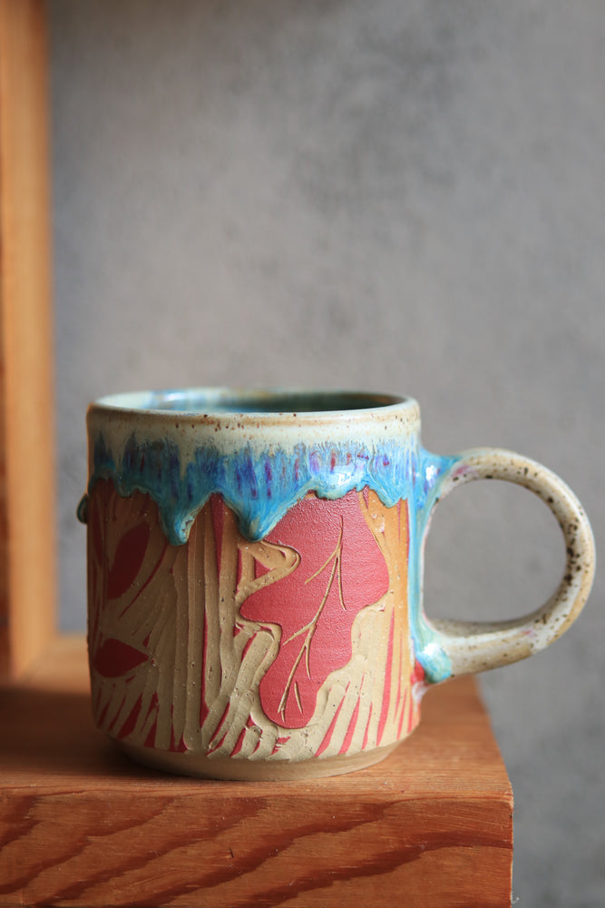 Load image into Gallery viewer, 34 Fox Mug 18 oz