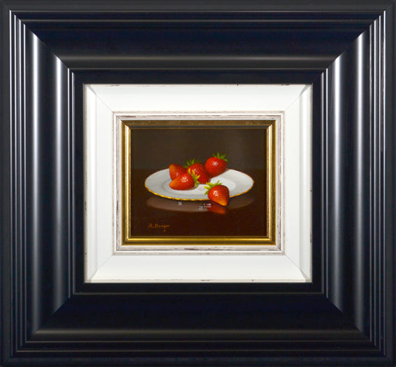 Ronald Berger  Plate of Strawberries