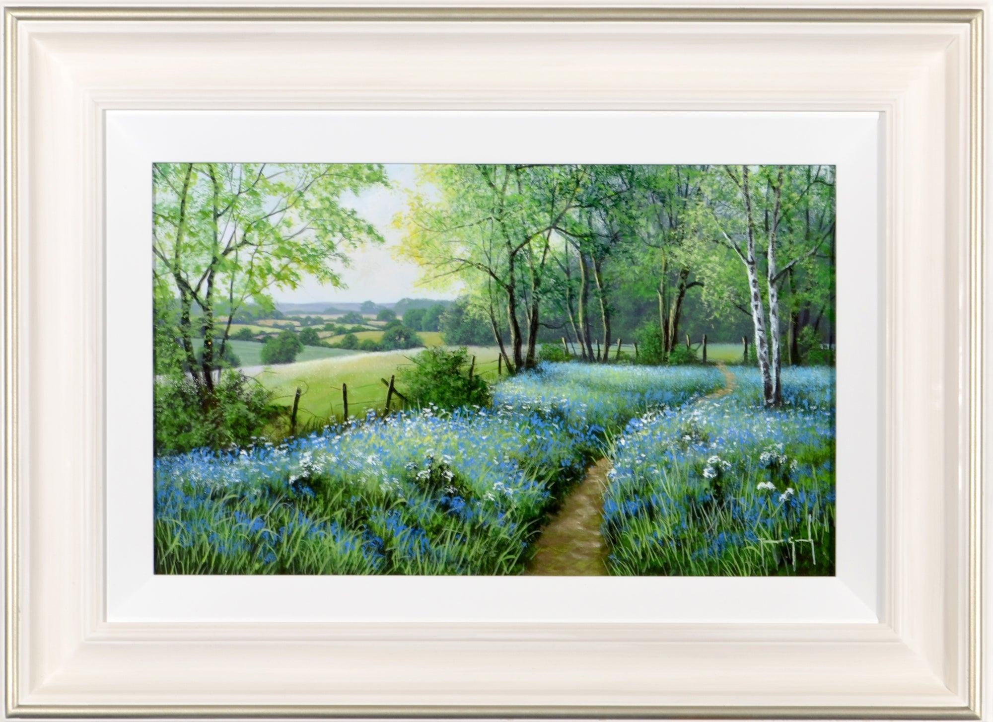 Terence Grundy - Summer Bluebells