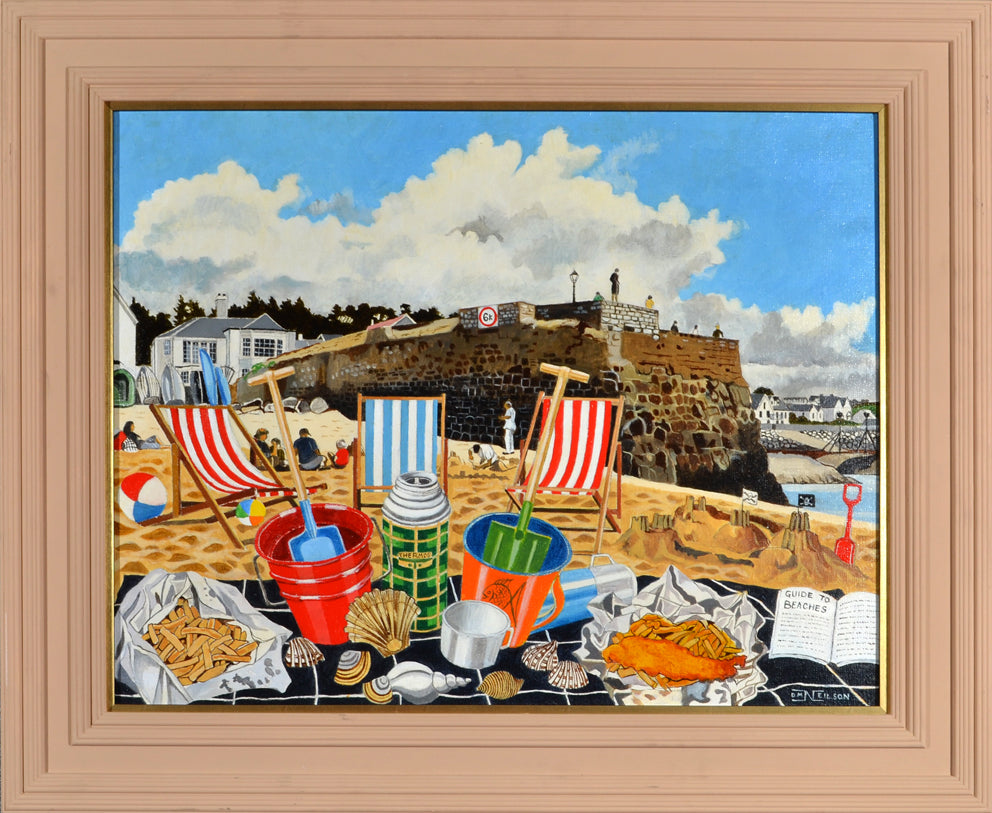 David M Neilson - Fish n' Chips on the Beach