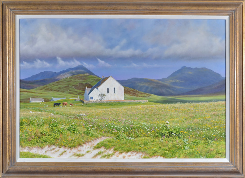 Gerry Hillman - On The Machair, South Uist
