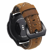 Load image into Gallery viewer, Samsung Galaxy Watch Premium Leather Strap